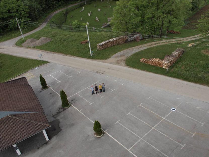 snimka dronom